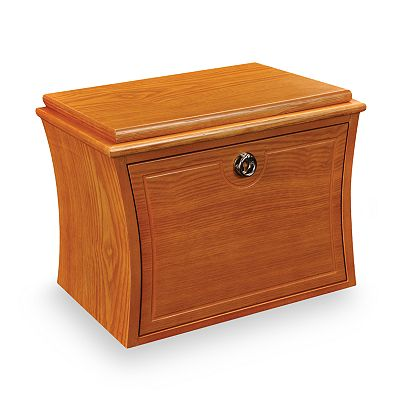 Mele & Co Oak Jewelry Box