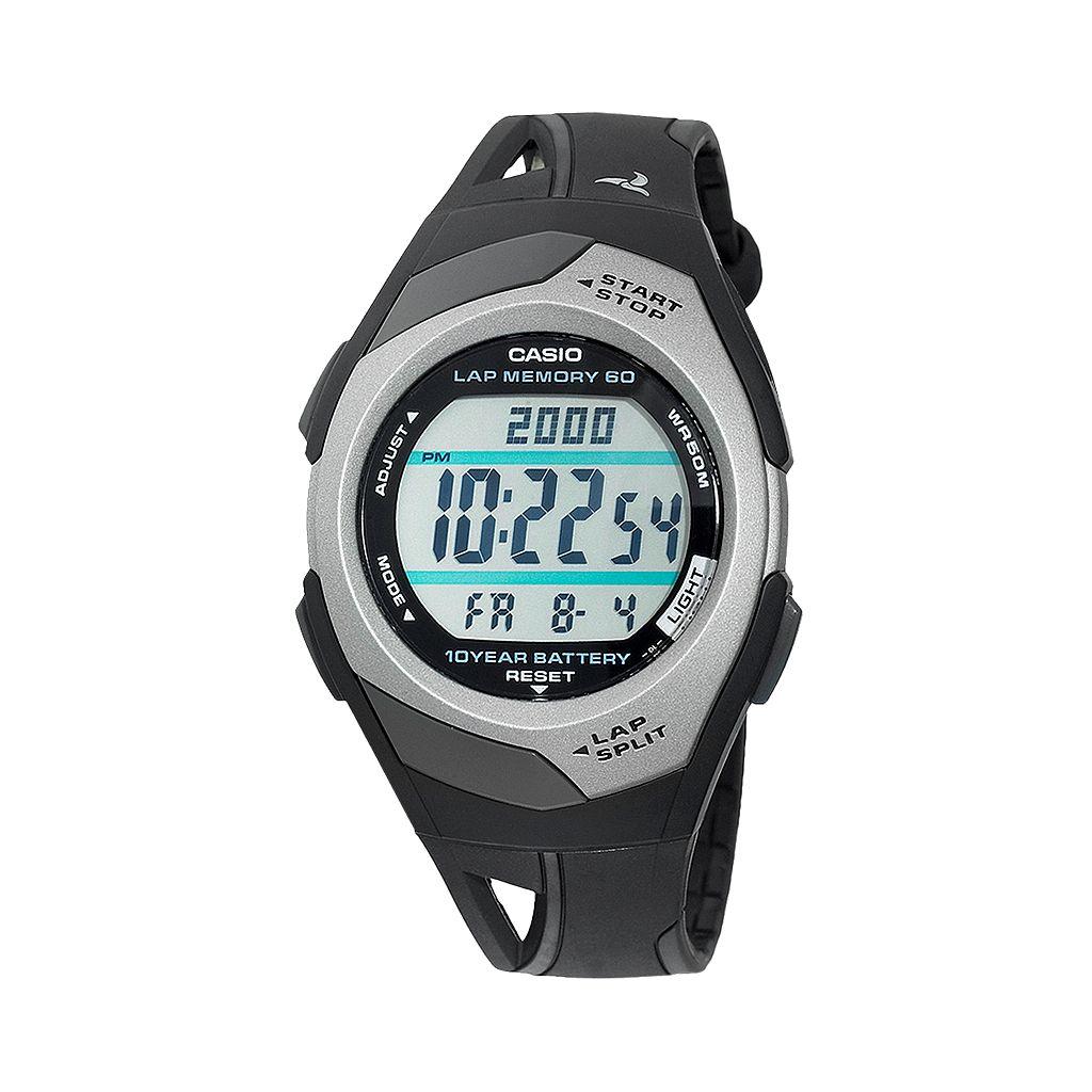Casio Women's Runner Series 60-Lap Digital Chronograph Watch - STR300C-1V