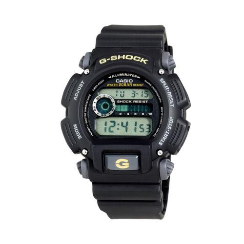 Casio Watch - Men's Illuminator G-Shock Black Resin Digital Chronograph