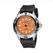 Seiko Solar Stainless Steel Diver's Watch - Men