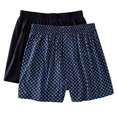 Croft and Barrow 2-pk. Knit Boxers