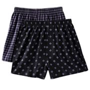 Croft and Barrow 2-pk. Patterned Knit Boxers