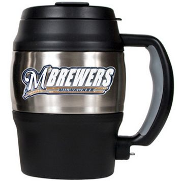 Milwaukee Brewers Stainless Steel Mini Travel Jug