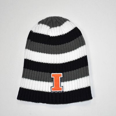 Illinois Fighting Illini Himalaya Striped Knit Beanie