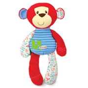 Kids Preferred Smarty Kids M is for Monkey Plush Toy