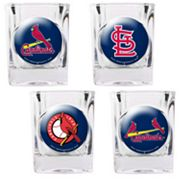 St. Louis Cardinals 4-pc. Square Shot Glass Set