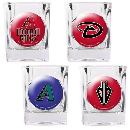 Arizona Diamondbacks 4-pc. Square Shot Glass Set