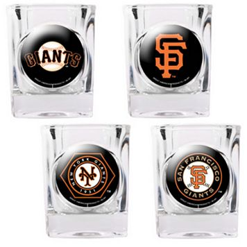 San Francisco Giants 4-pc. Square Shot Glass Set