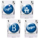 Los Angeles Dodgers 4-pc. Square Shot Glass Set