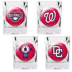 Washington Nationals 4-pc. Square Shot Glass Set