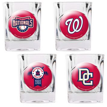 Washington Nationals 4-pc. Square Shot Glass Set