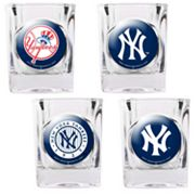 New York Yankees 4-pc. Square Shot Glass Set