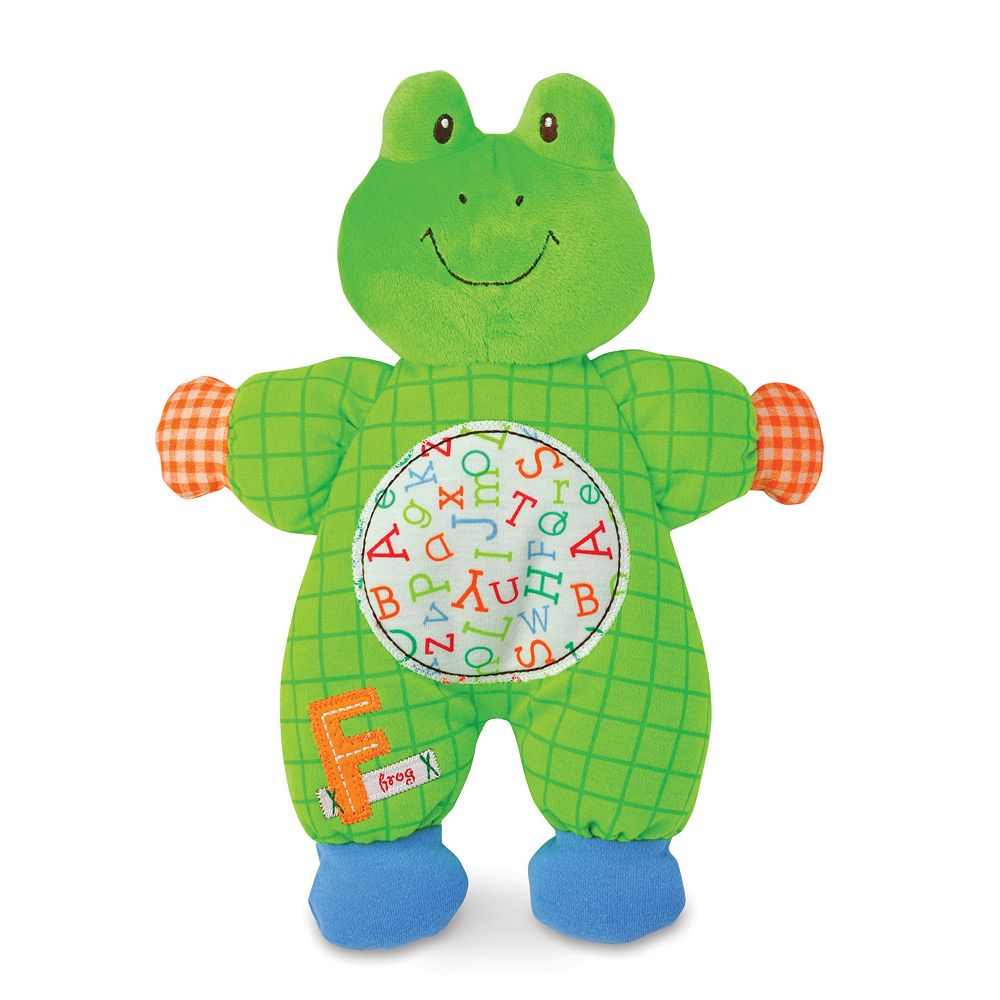 "Kids Preferred Smarty Kids ""F is for Frog"" Comfort Cuddly Blanky"
