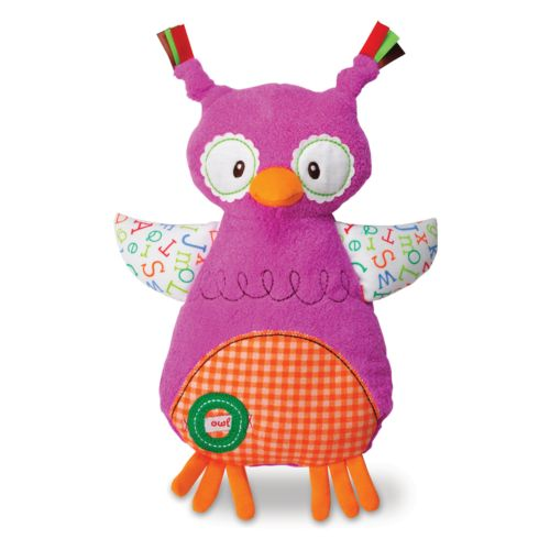 Kids Preferred Smarty Kids O is for Owl Comfort Cuddly Blanky
