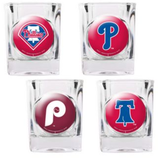 Philadelphia Phillies 4-pc. Square Shot Glass Set