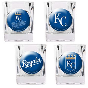 Kansas City Royals 4-pc. Square Shot Glass Set