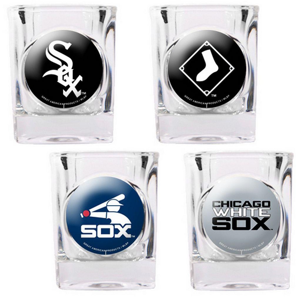 Chicago White Sox 4-pc. Square Shot Glass Set