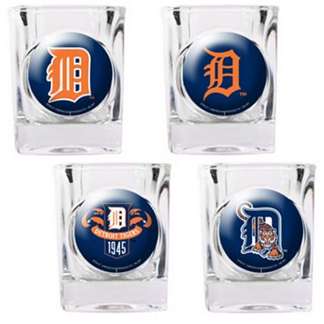 Detroit Tigers 4-pc. Square Shot Glass Set