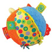 Kids Preferred Label Loveys Cute as a Button Chime Ball
