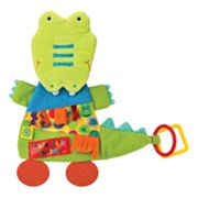 Kids Preferred Label Loveys Cute As A Button Alligator Teether Blanket