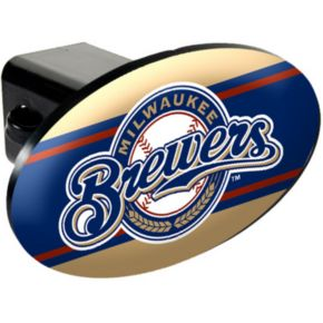 Milwaukee Brewers Trailer Hitch Cover