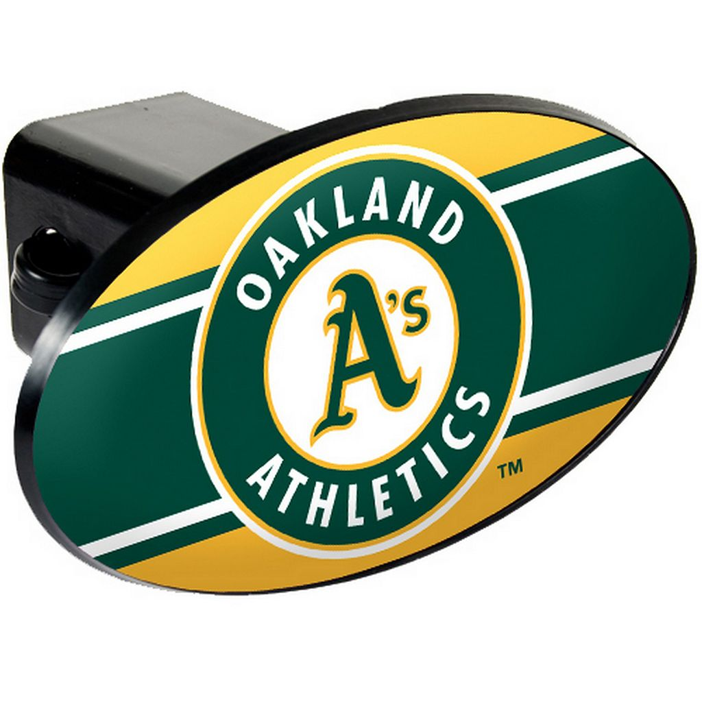 Oakland Athletics Trailer Hitch Cover