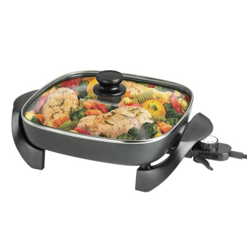 Black and Decker 12-in. Electric Skillet