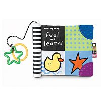 Kids Preferred Amazing Baby Feel & Learn! Soft Book