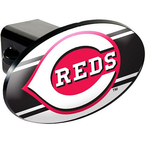 Cincinnati Reds Trailer Hitch Cover