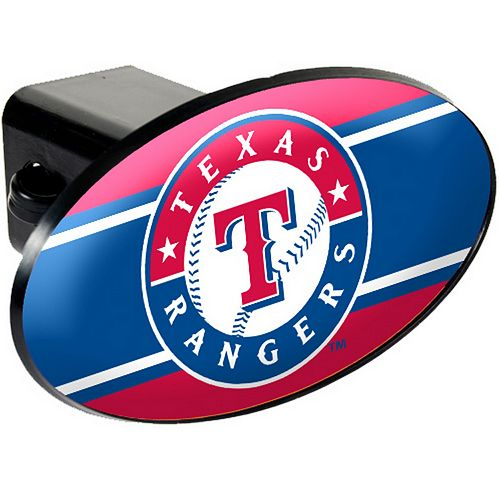 Texas Rangers Trailer Hitch Cover
