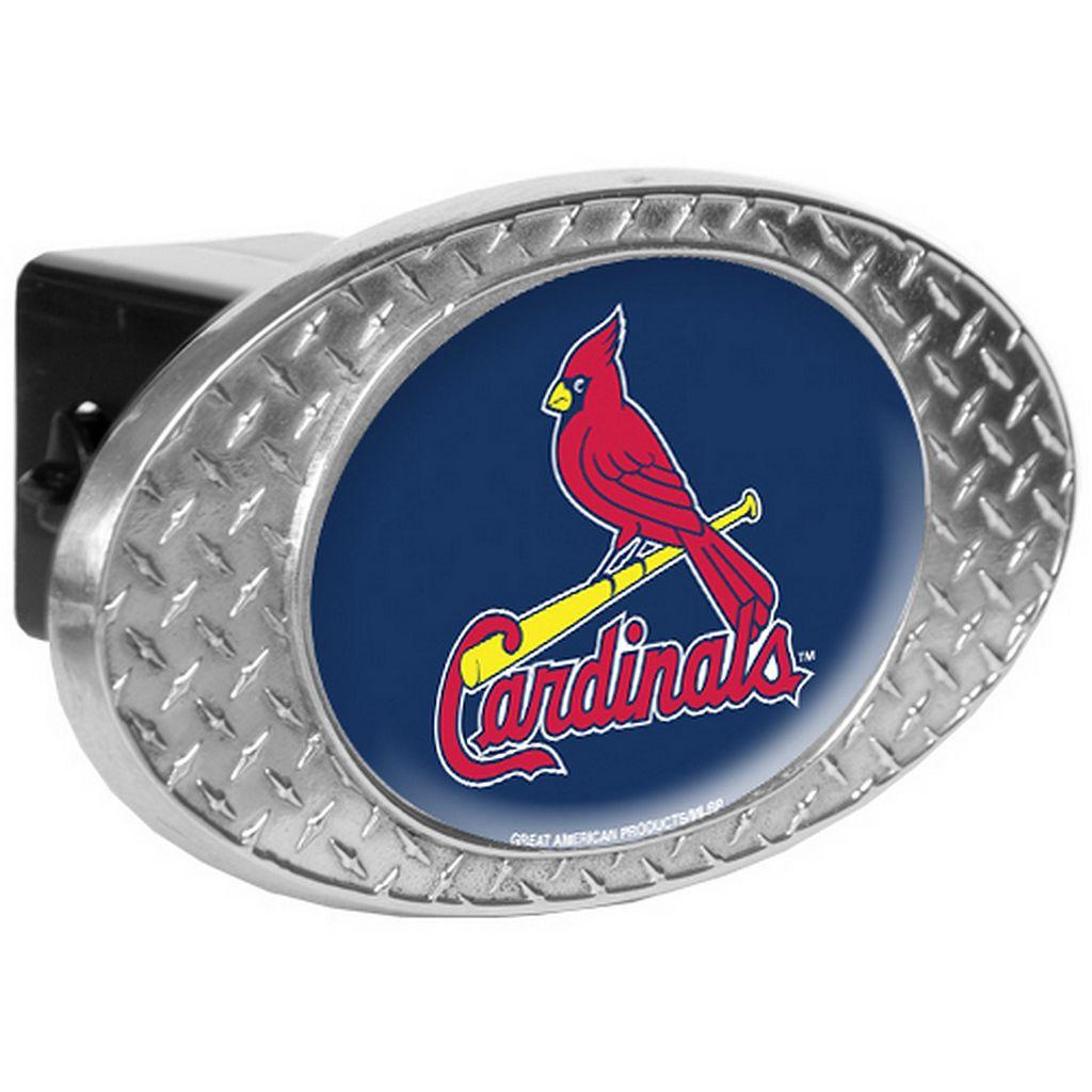 St. Louis Cardinals Diamond-Plate Trailer Hitch Cover