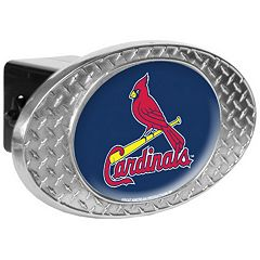 St. Louis Cardinals Diamond-Plate Trailer Hitch Cover