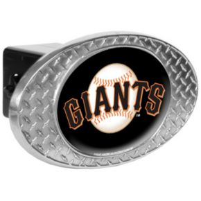 San Francisco Giants Diamond-Plate Trailer Hitch Cover
