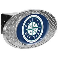 Seattle Mariners Diamond-Plate Trailer Hitch Cover