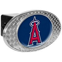 Los Angeles Angels of Anaheim Diamond-Plate Trailer Hitch Cover