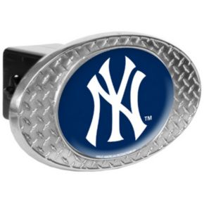 New York Yankees Diamond-Plate Trailer Hitch Cover