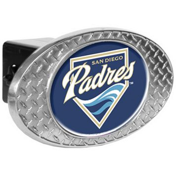 San Diego Padres Diamond-Plate Trailer Hitch Cover