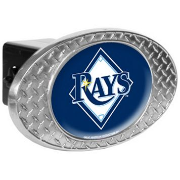 Tampa Bay Rays Diamond-Plate Trailer Hitch Cover
