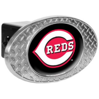 Cincinnati Reds Diamond-Plate Trailer Hitch Cover