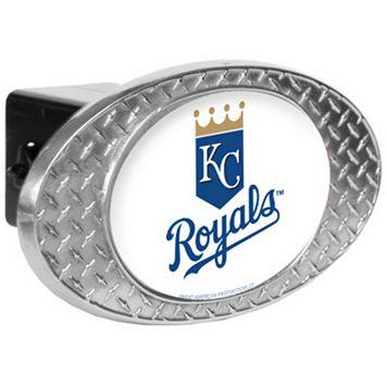 Kansas City Royals Diamond-Plate Trailer Hitch Cover