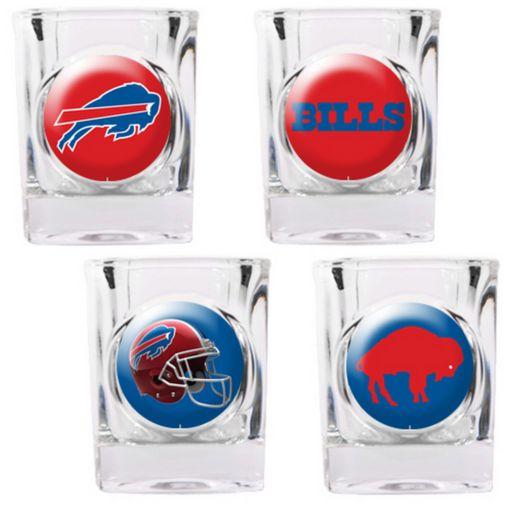 Buffalo Bills 4-pc. Square Shot Glass Set