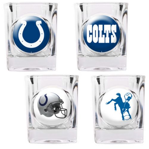 Indianapolis Colts 4-pc. Square Shot Glass Set