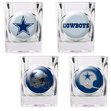 Dallas Cowboys 4-pc. Square Shot Glass Set
