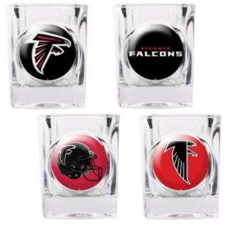 Atlanta Falcons 4-pc. Square Shot Glass Set