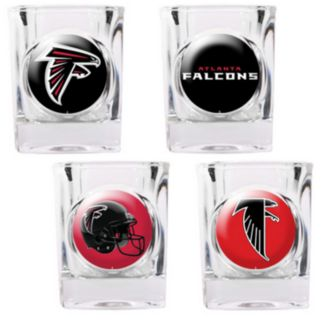 Atlanta Falcons 4-pc. Square Shot Glass Set