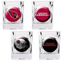 Arizona Cardinals 4-pc. Square Shot Glass Set