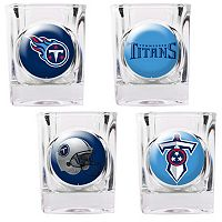 Tennessee Titans 4-pc. Square Shot Glass Set