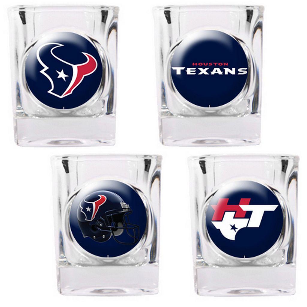 Houston Texans 4-pc. Square Shot Glass Set