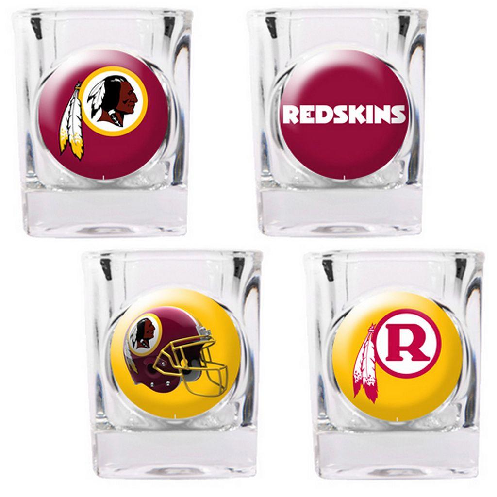 Washington Redskins 4-pc. Square Shot Glass Set