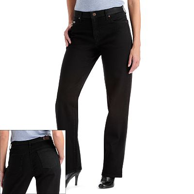 Lee Relaxed Fit Straight-Leg Jeans